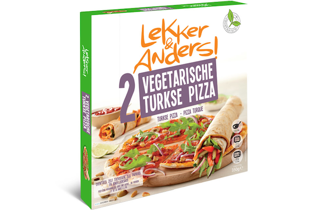Pure ingredients Vegetarische Turkse Pizza packshot