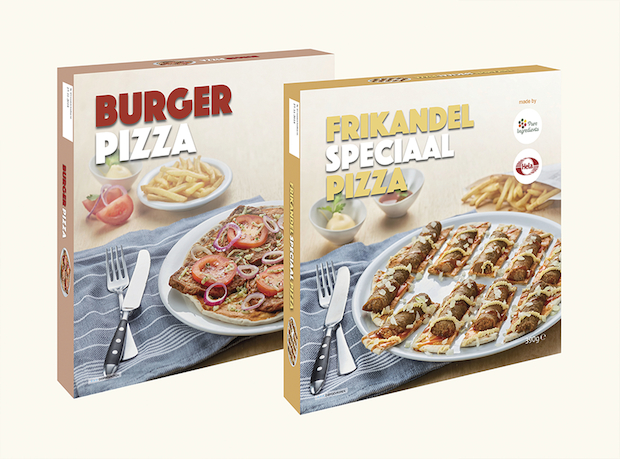 Burger pizza frikandel speciaal pizza